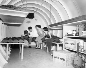 Interior of Bomb Shelter