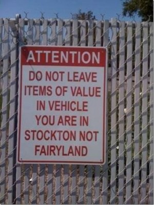 Apparently I'm not in Fairyland either!