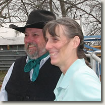 Richard McConnell and Tina Williams of Hand 'n Hand Livestock Solutions