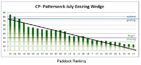 July 6 Grazing Wedge