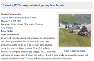 Turnkey rotational grazng farm for sale