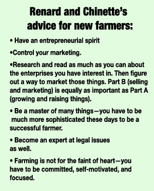 Advice to New Farmers