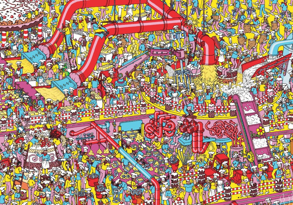 This is a graphic of Inventive Where's Waldo Pictures Printable