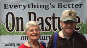 Don and Betty Ashford visited us at the On Pasture booth at the National Conference on Grazing Lands in Grapevine, Texas.
