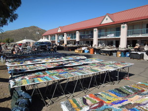 Vendors are in different locations all over town. Interested in a nice vacation? Click for info! :-)