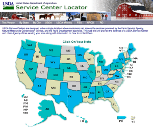 Looking for an NRCS Office near you? Click here to go to an interactive map that will help you find it.
