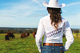 Meg runs Rhinestone Cattle Company. Her goal is to revitalize the northeast's beef industry by using and teaching the principles of natural, low-input management. Beef production can be very lucrative in this region, but only if we challenge old paradigms and try new methods. I believe that grassfed beef and dairy products are the healthiest to eat and the most sustainable to raise. RCC aims to make 100% grassfed beef available and affordable for consumers, and profitable for those who produce it.