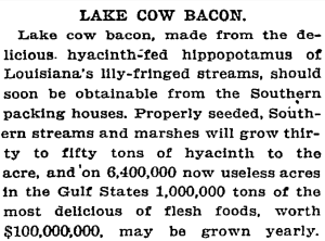 From a New York Times article published April 12, 1910.