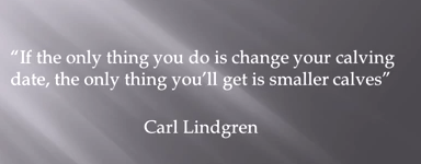 Carl Lindgren Quote Sand Ranch