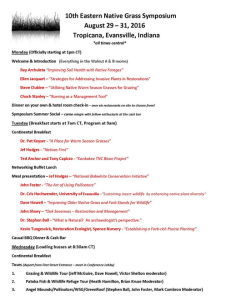 Here's the schedule. Click to see a larger size.
