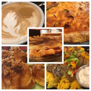 If you like lamb biryani, Quiche provencal, sticky buns, fresh berry pie, grasped lattes...all GF, then visit the Sap Bush Hollow Farm Cafe at 832 W Fulton Rd, West Fulton, NY 12194, 10-5, Sat-Sun!