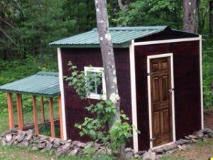 The original chicken coop