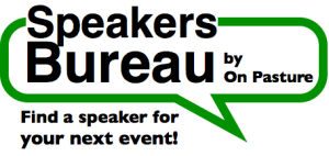 How to Find a Speaker for Your Next Event – On Pasture