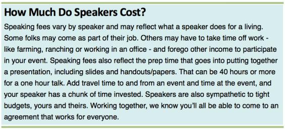 On Pasture Speakers Bureau – On Pasture