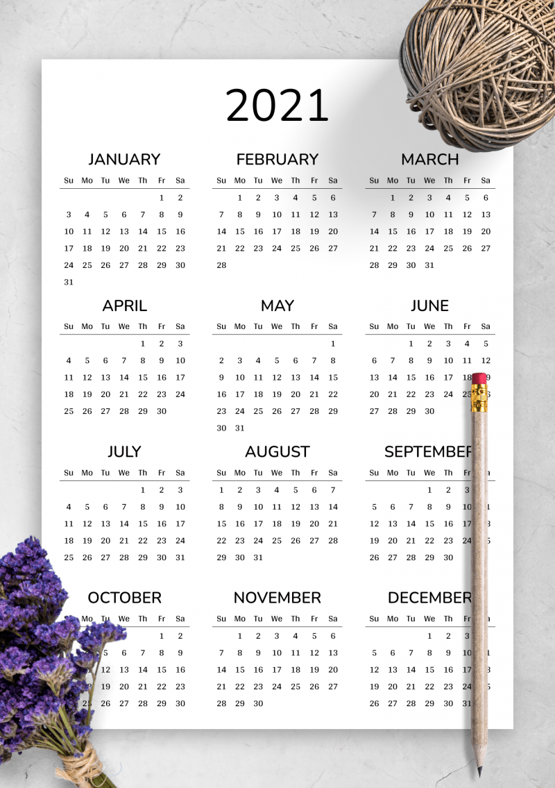 Get organized and stay on schedule with the best calendar apps for android and ios. 2021 Printable calendar