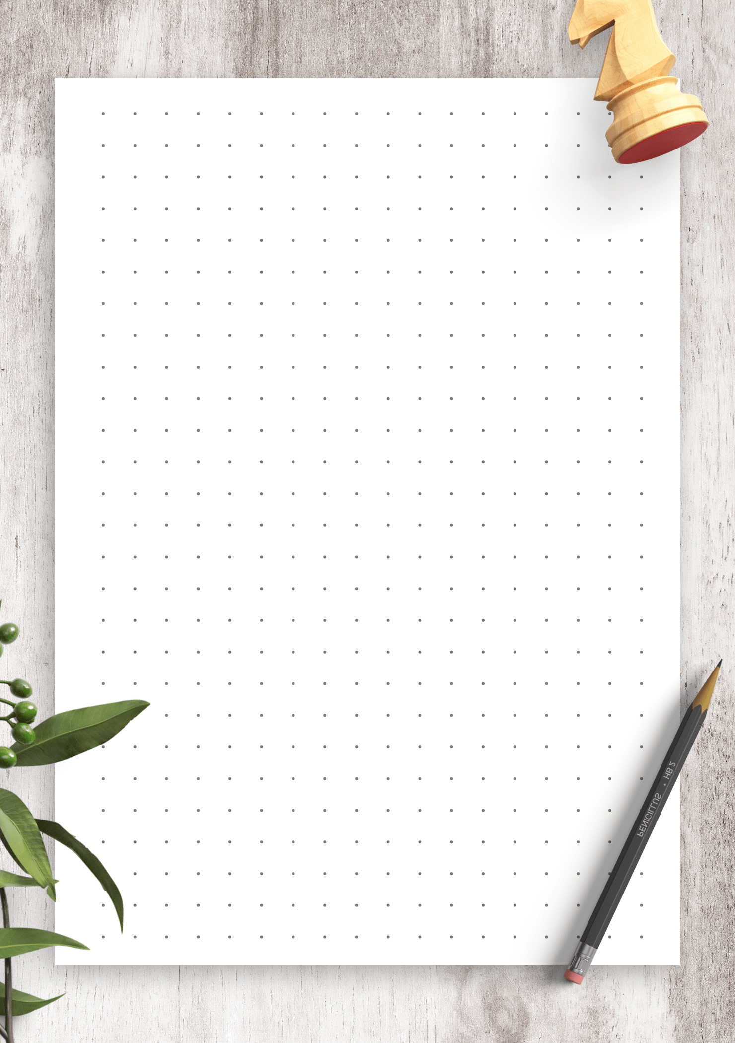 Download Printable Dot Grid Paper With 7 5 Mm Spacing