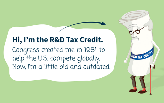 R&D Tax Credit Infographic
