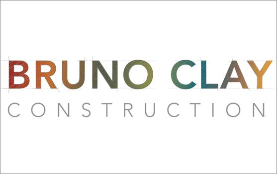 Bruno Clay Construction Logo
