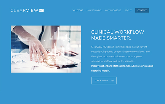 ClearView MD Website