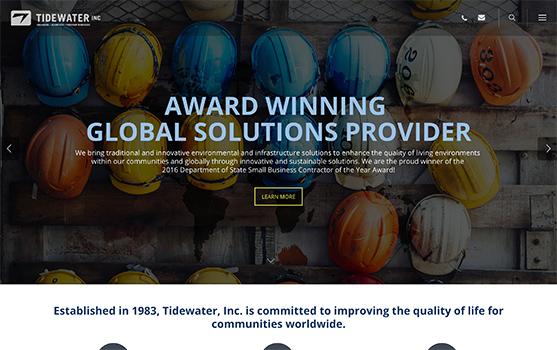 Tidewater Website