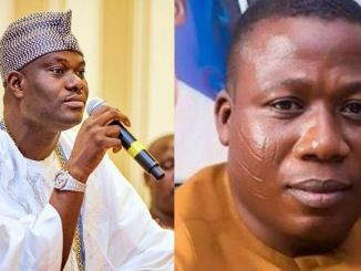 Ooni and sunday
