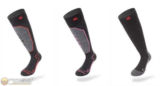 Balról jobbra: Lenz Heat Sock 1.0, Heat Sock 1.0 Lady és Heat Sock 3.0