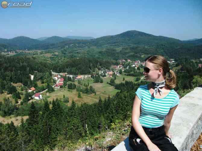 Egész szép kilátás nyílt Karlovac után