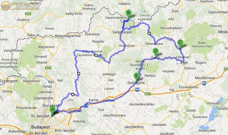 A tervezett útvonal mintegy 360 kilométer