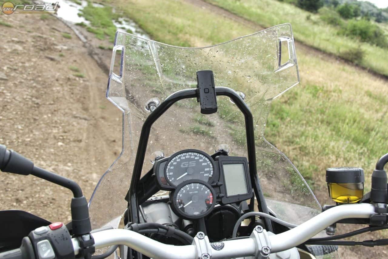 Zseniális hely a GPS tartójának