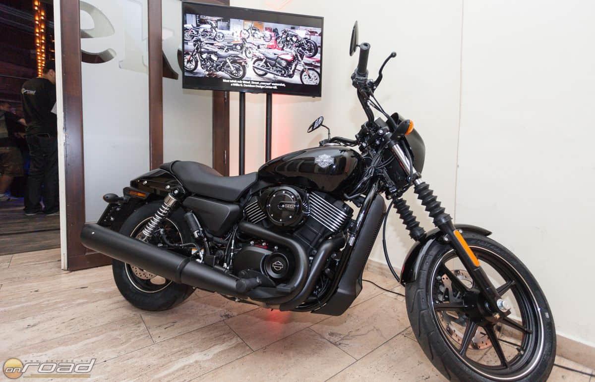Az est főszereplője: a Harley-Davidson Street 750