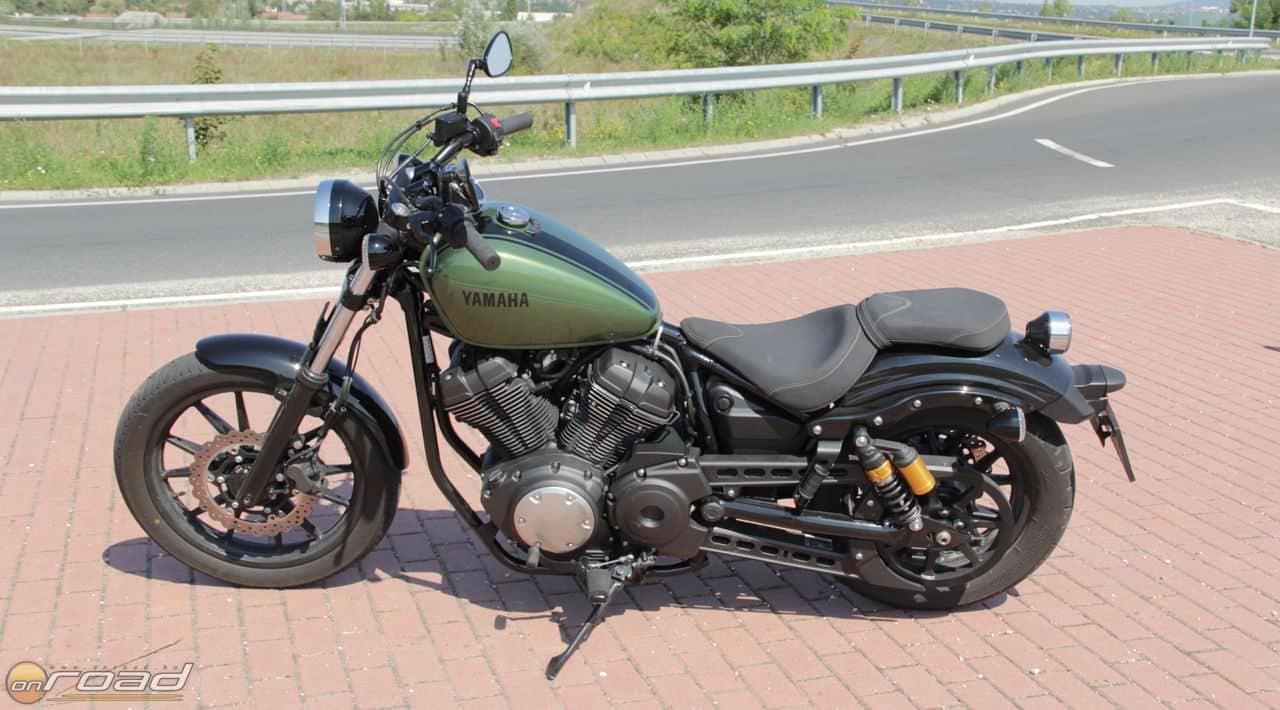 Csodaszép vonalú motor a Yamaha XV950R