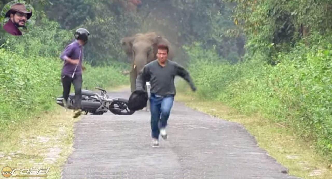 Indiában gyakran egyetlen lehetőség a futás!