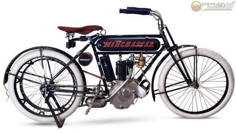 A híres fegyvergyártó WInchester motorkerékpárt is épített, igaz nem sokat