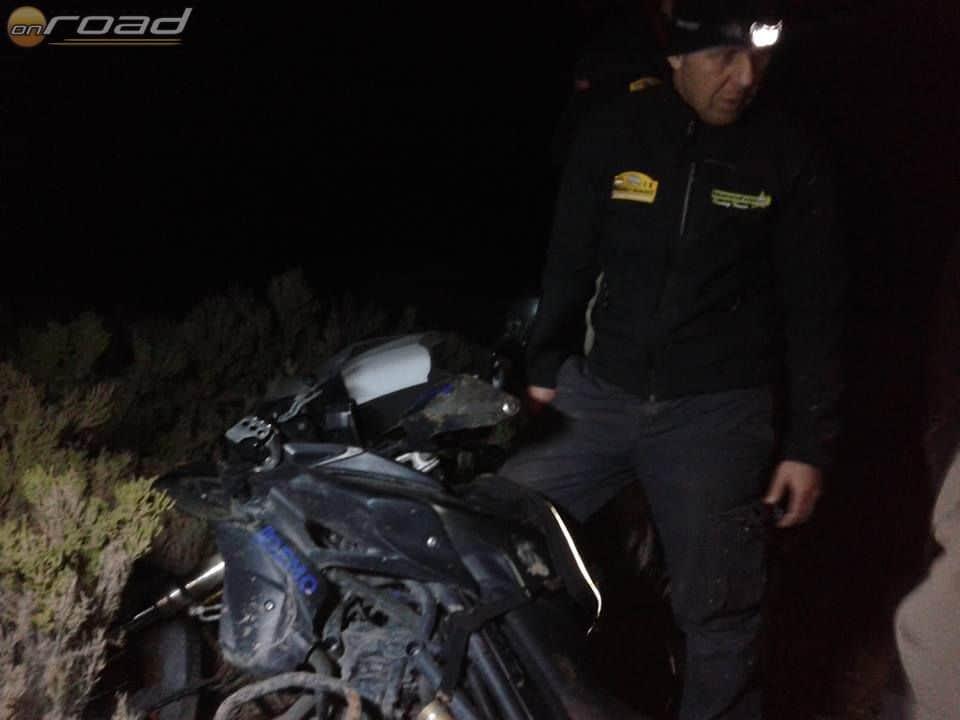 Janót mentik az éjszaka közepén (szervezői fotó)