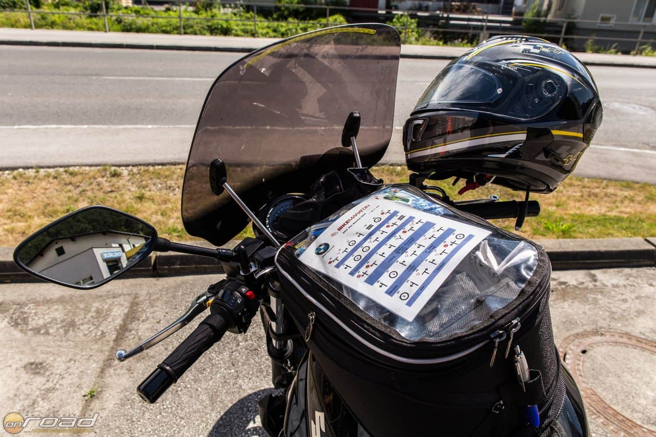 A jellegzetes BMW Bike Maraton itiner