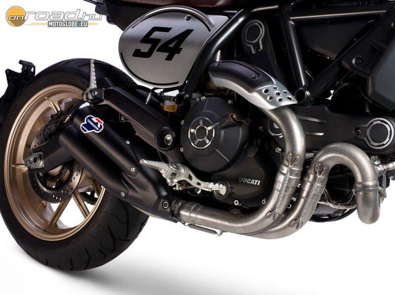 Termignoni kipufogórendszerrel szerelik a Ducati Café Racert