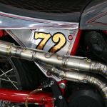 76 Duc GT1000 custom 72f exhaust