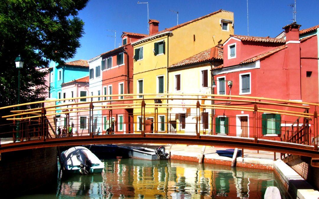Burano, la isla de colores italiana