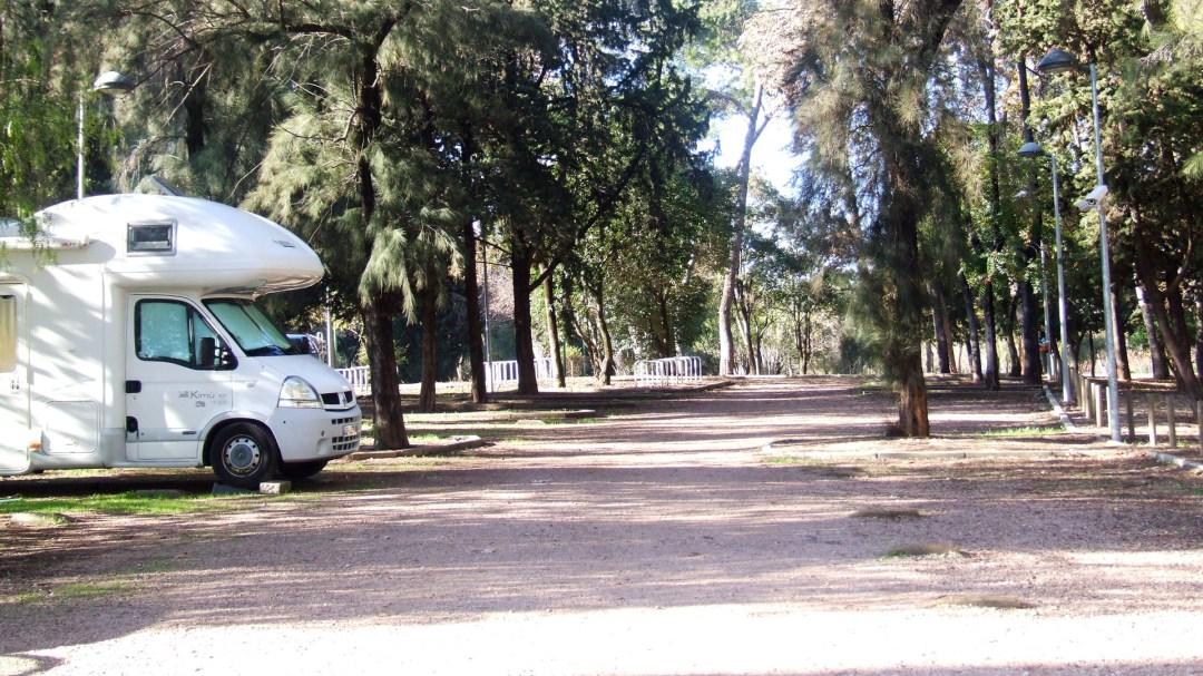Area de Autocaravanas de Córdoba