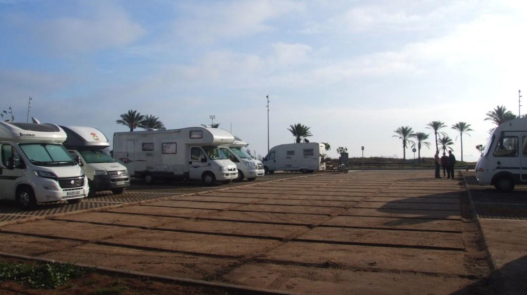 Area de Autocaravanas de Castellón