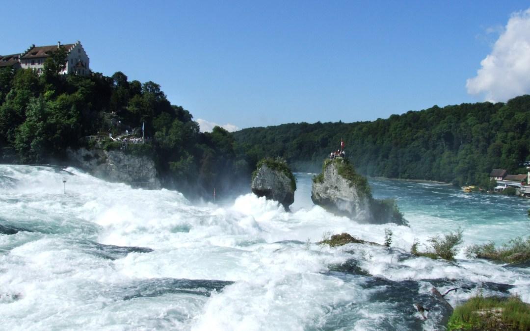 Cataratas del Rhin, el espectáculo del agua