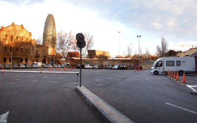 Pernoctar con autocaravana en Barcelona