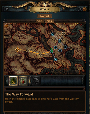 Poe Act 1 Map : Exile, Launch, Review, OnRPG