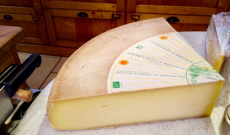 Cheese from Chapelle des Bois