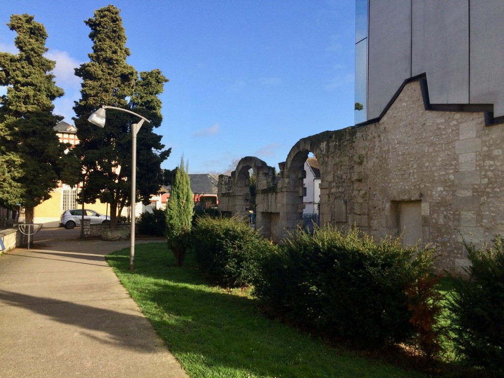 the cloisters in Louviers