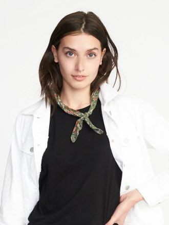 Lightweight Printed Neckerchief for Women, $8.99