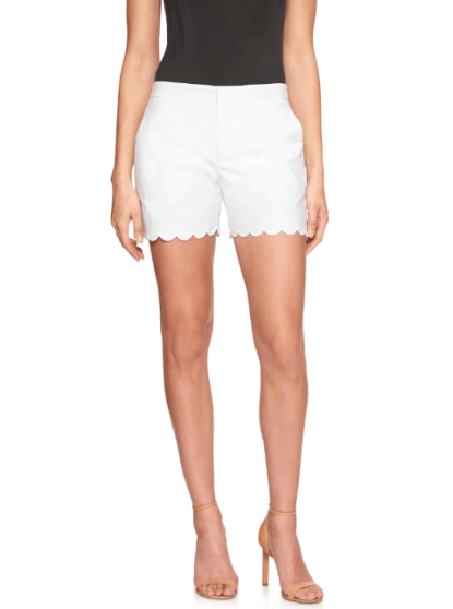Tailored Scallop Pique Short, $19.99