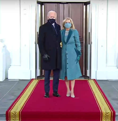 First Lady Dr. Jill Biden's Inauguration 2021 coat
