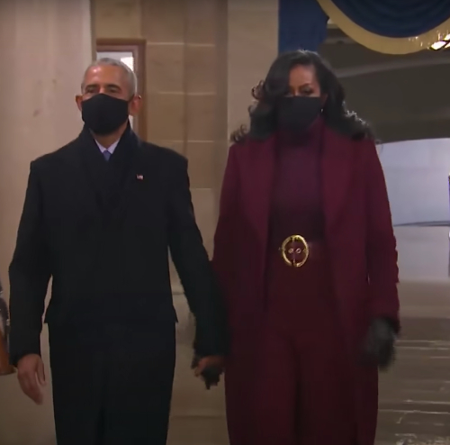 Michele Obama's Inauguration 2021 coat