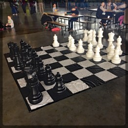 Canadian War Museum Giant Chess Set